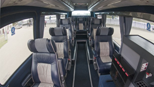 luxury minibus hire london